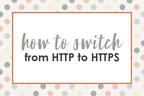 switching your website from http to https in wordpress