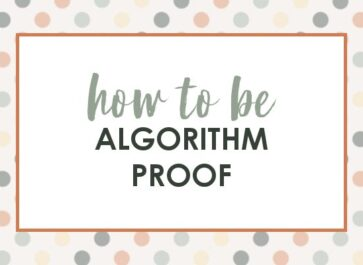 why I don't worry about algorithm changes