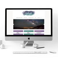 Computer Preview Midnight Best Wordpress Theme