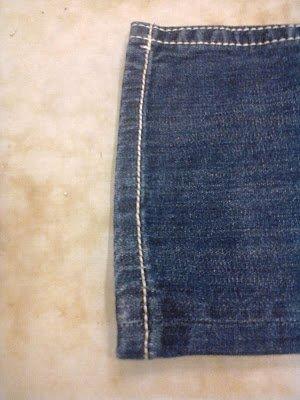 Two Methods for Hemming Jeans