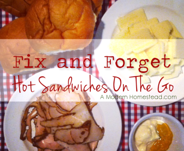 Hot Sandwiches – The New Freezer Meal