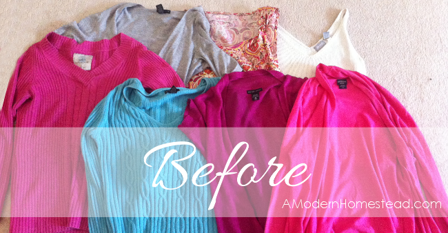 Finally! Something easy and cheap to do with all those unused pieces of clothing in my closet!! I'm so trying this today!