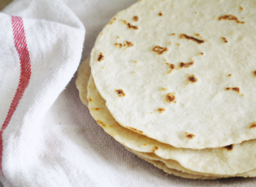 Einkorn Flour Homemade Tortillas