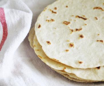 Einkorn Flour Homemade Tortillas