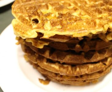 Einkorn Waffles You can Freeze