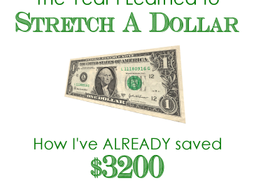 The Year I Learned to Stretch a Dollar