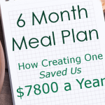 Updated 6 Month Meal Plan - Featured Promo