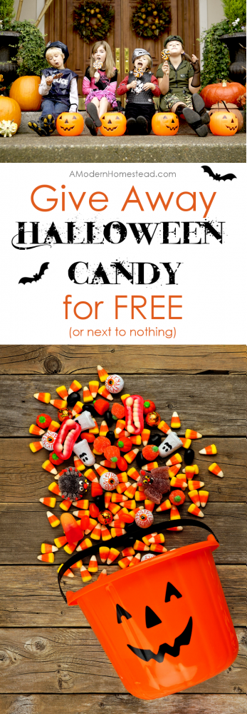 Get Your Halloween Candy for Free (Or next to nothing)