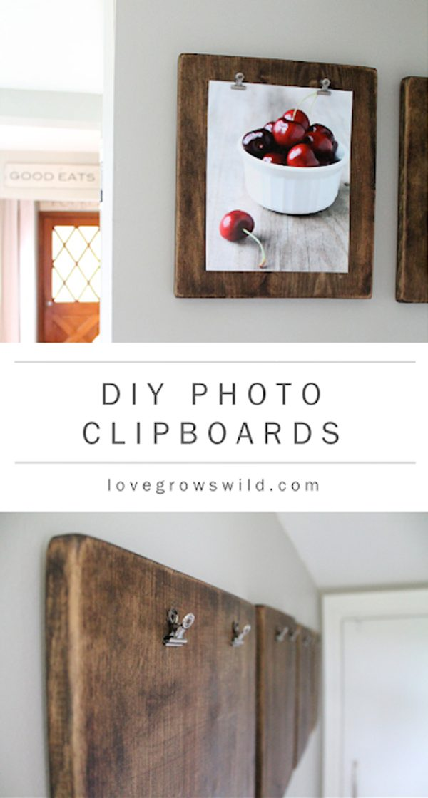 photo clipboard easy wood project for beginners