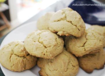 Einkorn Flour Drop Biscuits