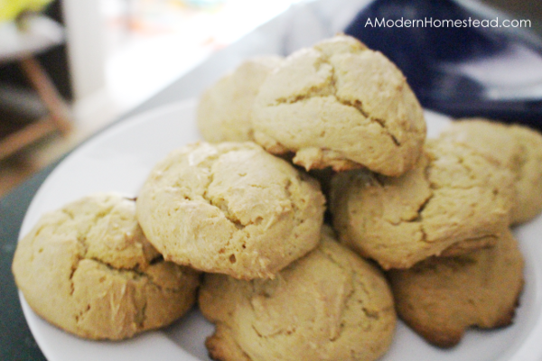 Einkorn drop biscuits, oven ready in 5 minutes!