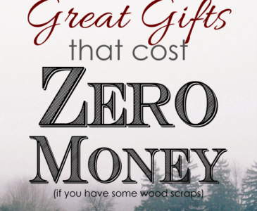 10 Great Gifts that cost ZERO Money to Make!