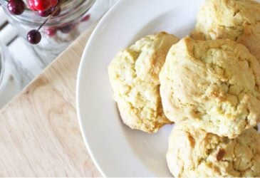 Einkorn Flour Drop Biscuits