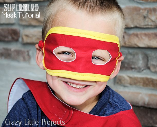 DIY superhero masks gifts for kids