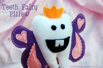 Tooth fairy pillow cute easy christmas gifts for kids