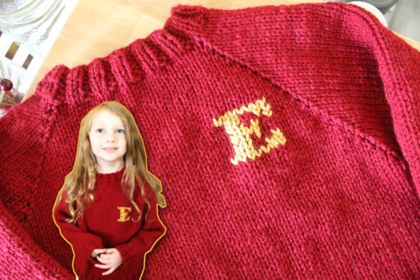 diy weasley sweater knitting pattern christmas gifts for kids