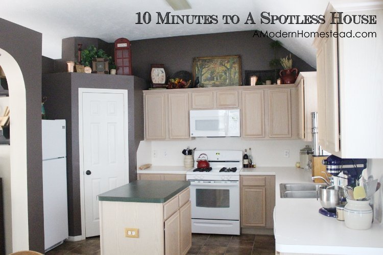how to clean your house in 10 minutes a day