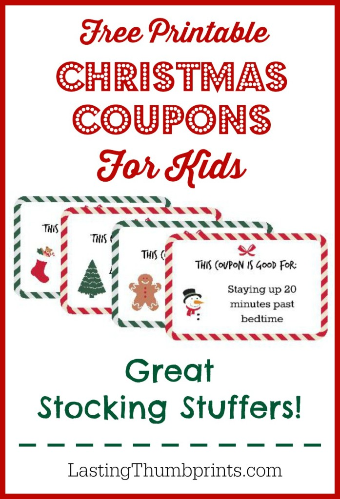 This is a photo of Adaptable Printable Coupons for Kids