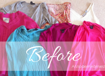Thrifty Tricks: Dying Clothes