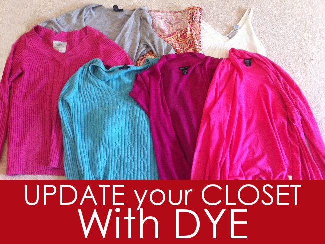How To Update Your Closet with Dye - Slider Promo