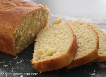 No Knead Einkorn Sandwich Bread