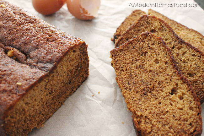 Hands down, the easiest banana bread ever! Seriously, I've made this like 20 times already!!