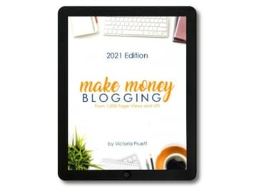 make money blogging at any level ebook