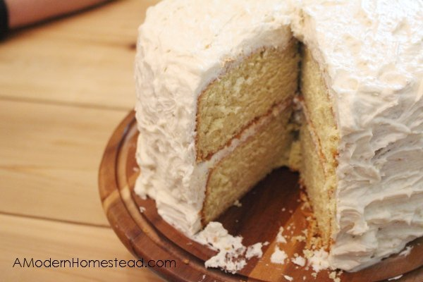 Einkorn Birthday Cake