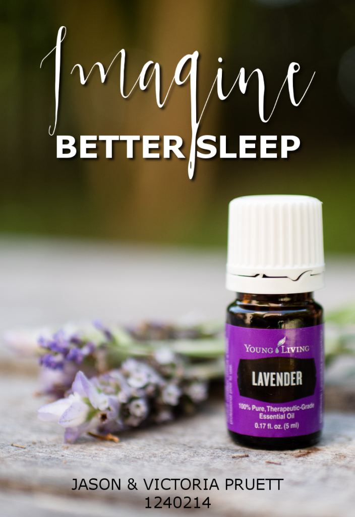 Better Sleep with lavender essential oil