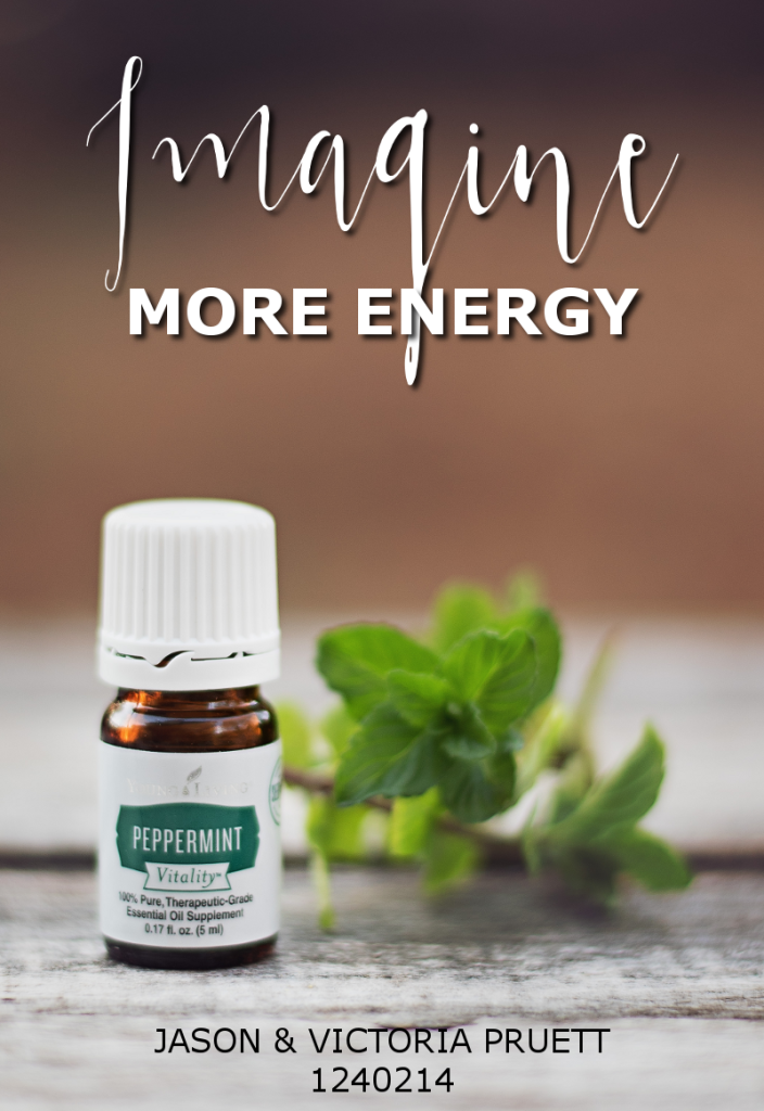 More Energy with peppermint essential oil