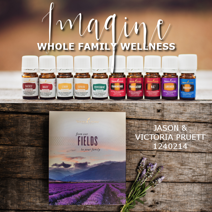 Imagine total family wellness in a pretty little box. That's completely possible with Young Living Pure Essential Oils! Get your set now and start getting the results you've been hearing about!