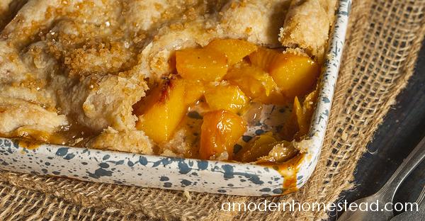 2 Crust Peach Cobbler