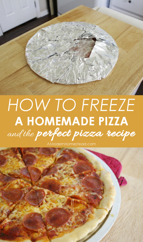 3 Ways to Make Ahead and Freeze Homemade Pizza Freezer Cooking, Tips, Tricks, and How to's Pizza is one of my favorite foods and can always be found on our weekly menu plan.