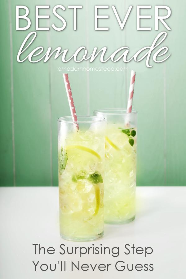 Best ever homemade lemonade! Seriously the best darn lemonade I have ...