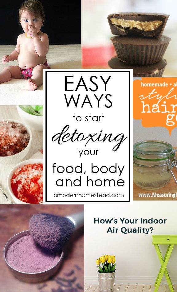 Toxins are everywhere, but avoiding them can be overwhelming! Here are some of my favorite fast and easy ways to start detoxing your life!