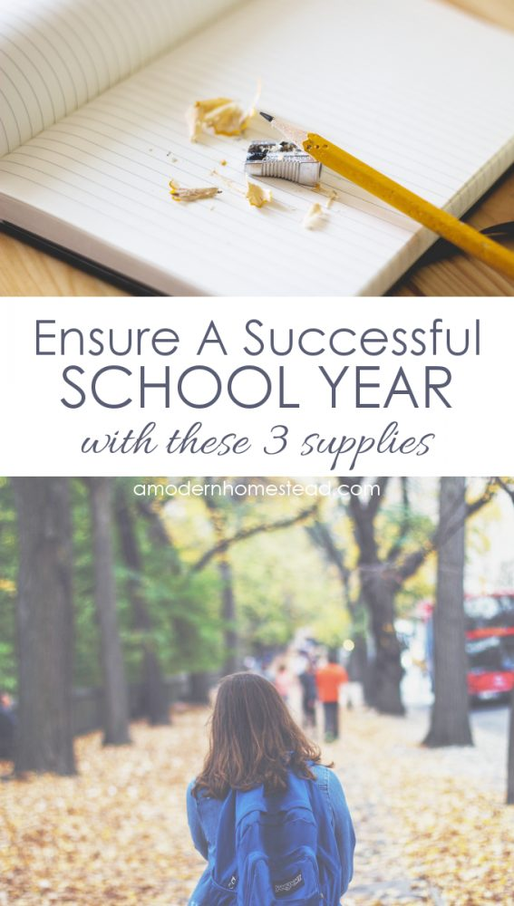 Check out these 3 supplies for helping to ensure a successful school year, no matter how old your kids are! I never would have thought of these!