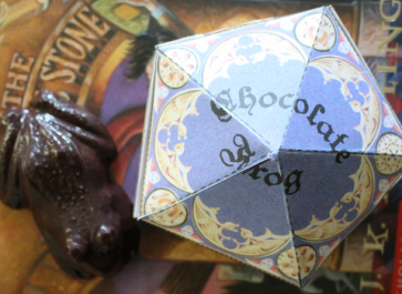 Harry Potter Chocolate Frogs with Boxes