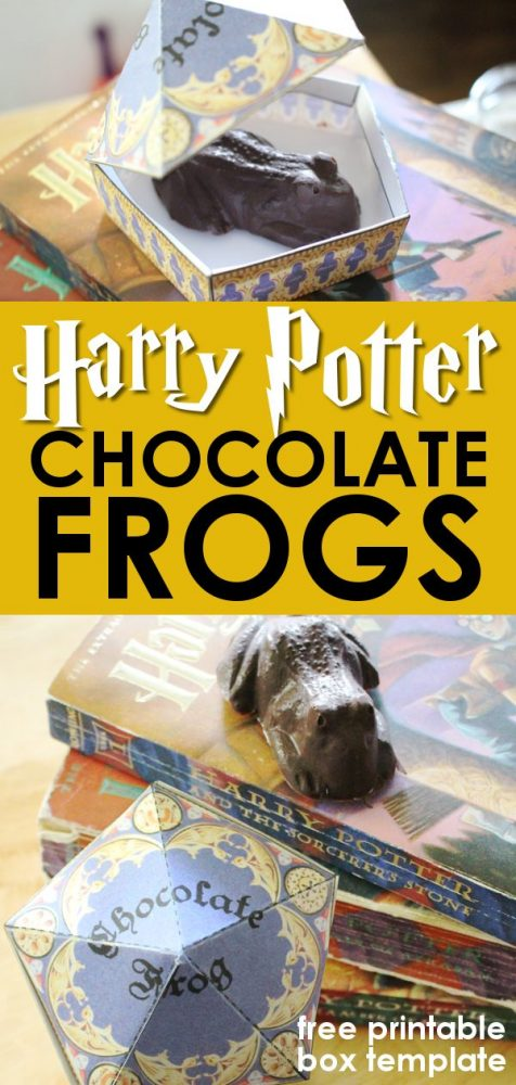 Harry Potter Chocolate Frogs Chocolate Frog Box - Pinterest