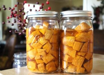 Home canned sweet Potatoes