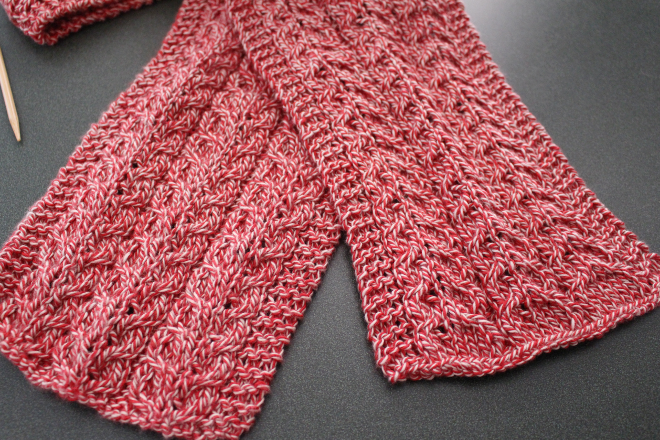 Basic Knitting Scarf Patterns : Simple Cable Knit Scarf A Modern Homestead