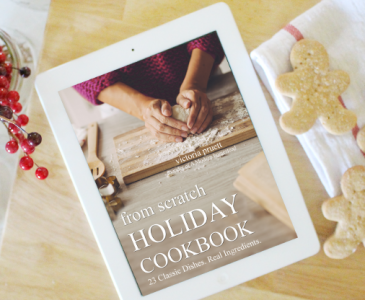 From Scratch Holiday Cookbook
