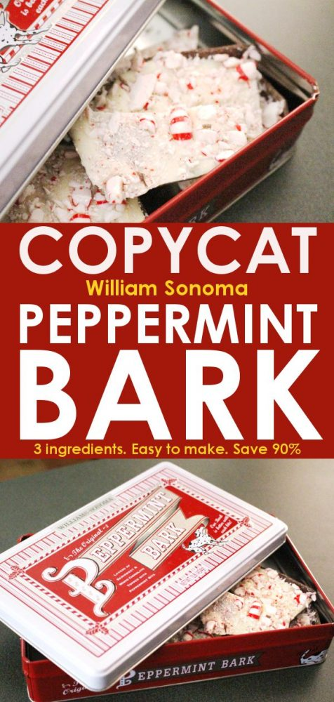 copycat william sonoma peppermint bark recipe