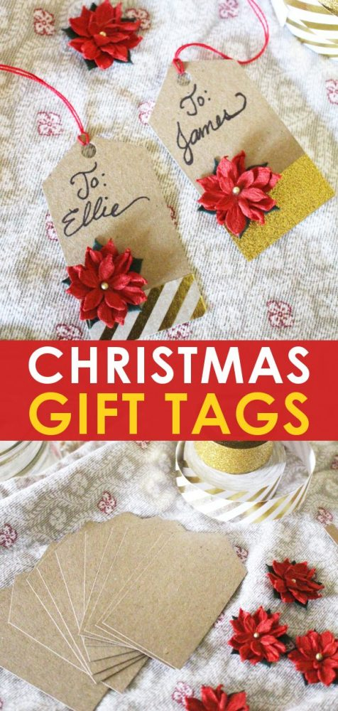 Christmas Gift Tags Diy.Stunning Handmade Christmas Gift Tags Free Printable Template