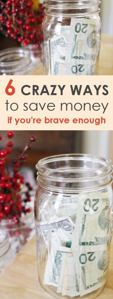Finding crazy new ways for how to save money is a fun game! Here are 6 out of the box to save money, if you're brave enough!