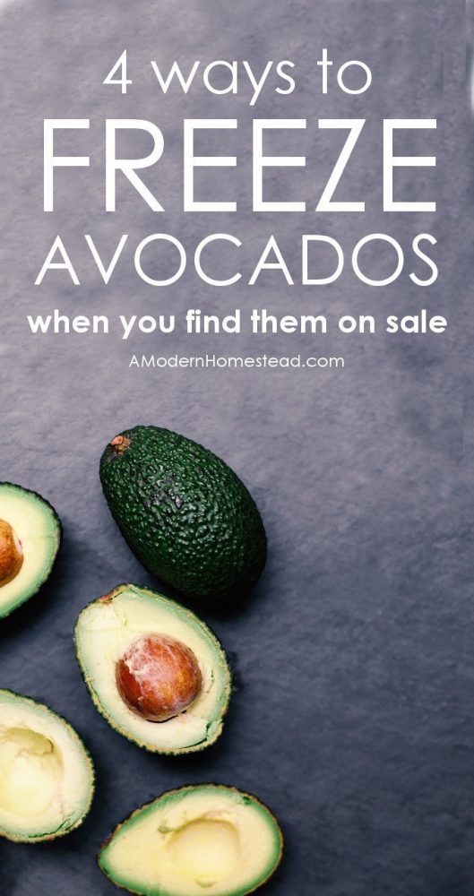 "We've all been there, you see avocados on sale and you want to buy 50 of them! But then you ask yourself the questions, ""How do I store avocados?"" and ""Can I freeze avocados?"". Get the answer here!"