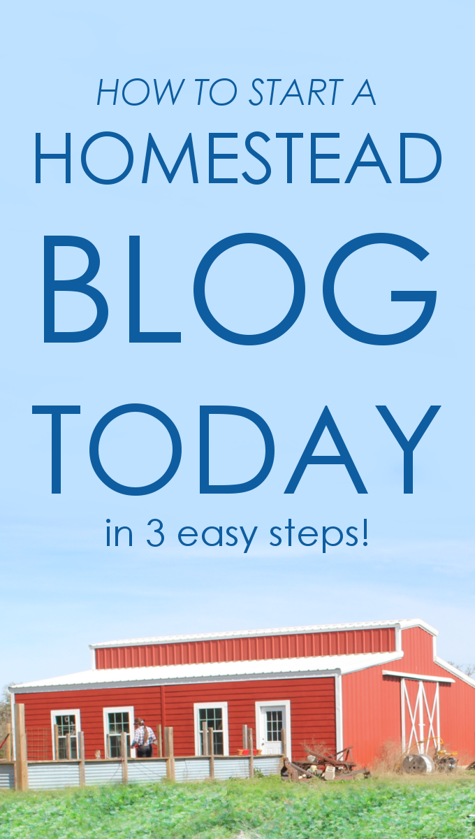 Do you dream of having more money for your homestead? Find out how easy it is to start a profitable blog today!