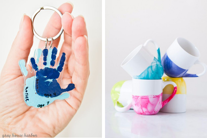 Mother's Day gift ideas. Handmade gifts are a wonderful way to show mom you really care. But sometimes there's just not enough time to squeeze in a big project! Here are 32 handmade gifts you can make for any mom in your life in 15 minutes or less!