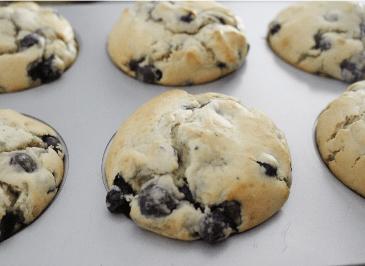 Einkorn Blueberry Muffins