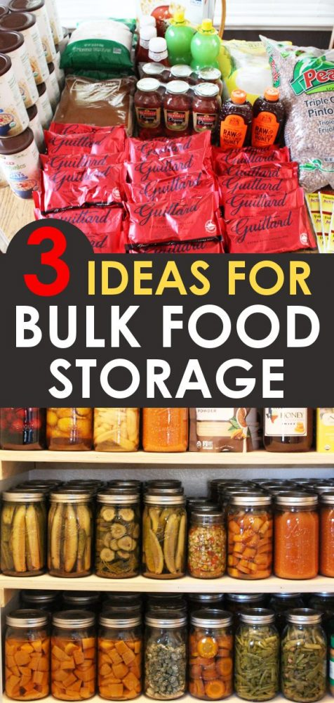3 great ideas for bulk food storage