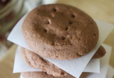 Classic shortbread melt in your mouth texture, with a chocolate twist! These chocolate shortbread cookies are sure to please at any gathering, or just because!